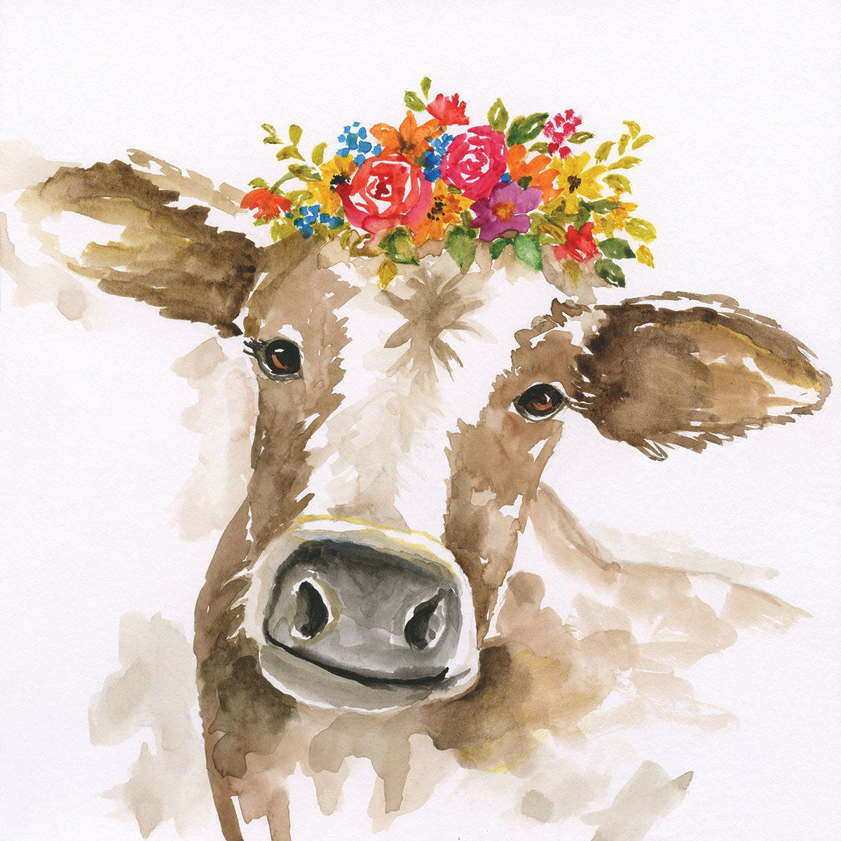 Picture of HAPPY COW WALL HANGING