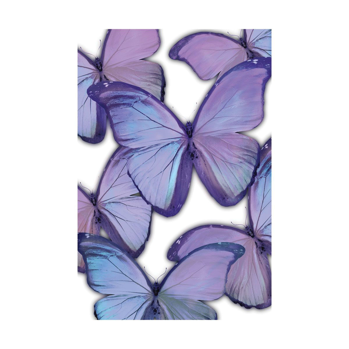 Picture of PURPLE BUTTERFLYS WALL HANGING