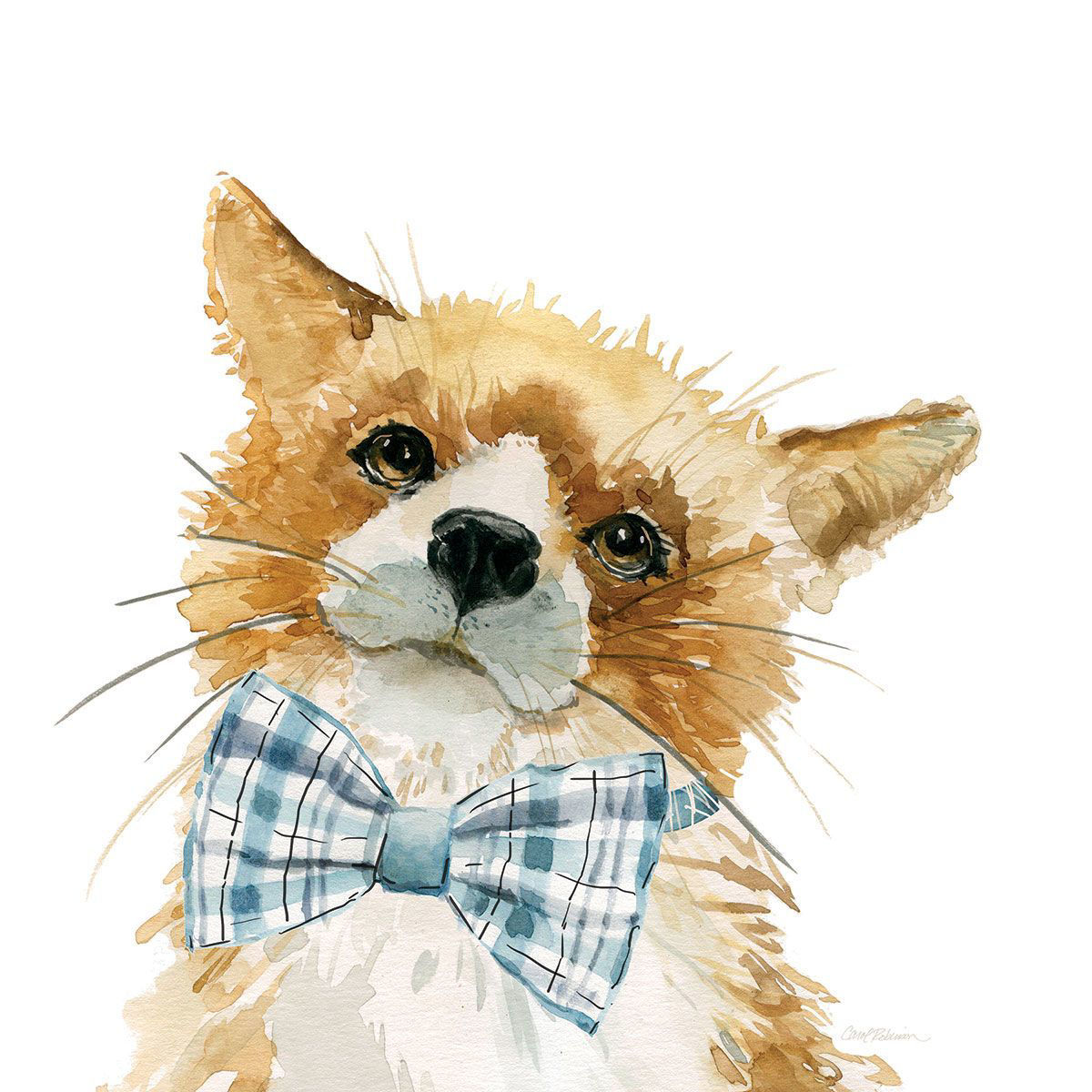 Picture of HAPPY FOX WALL HANGING
