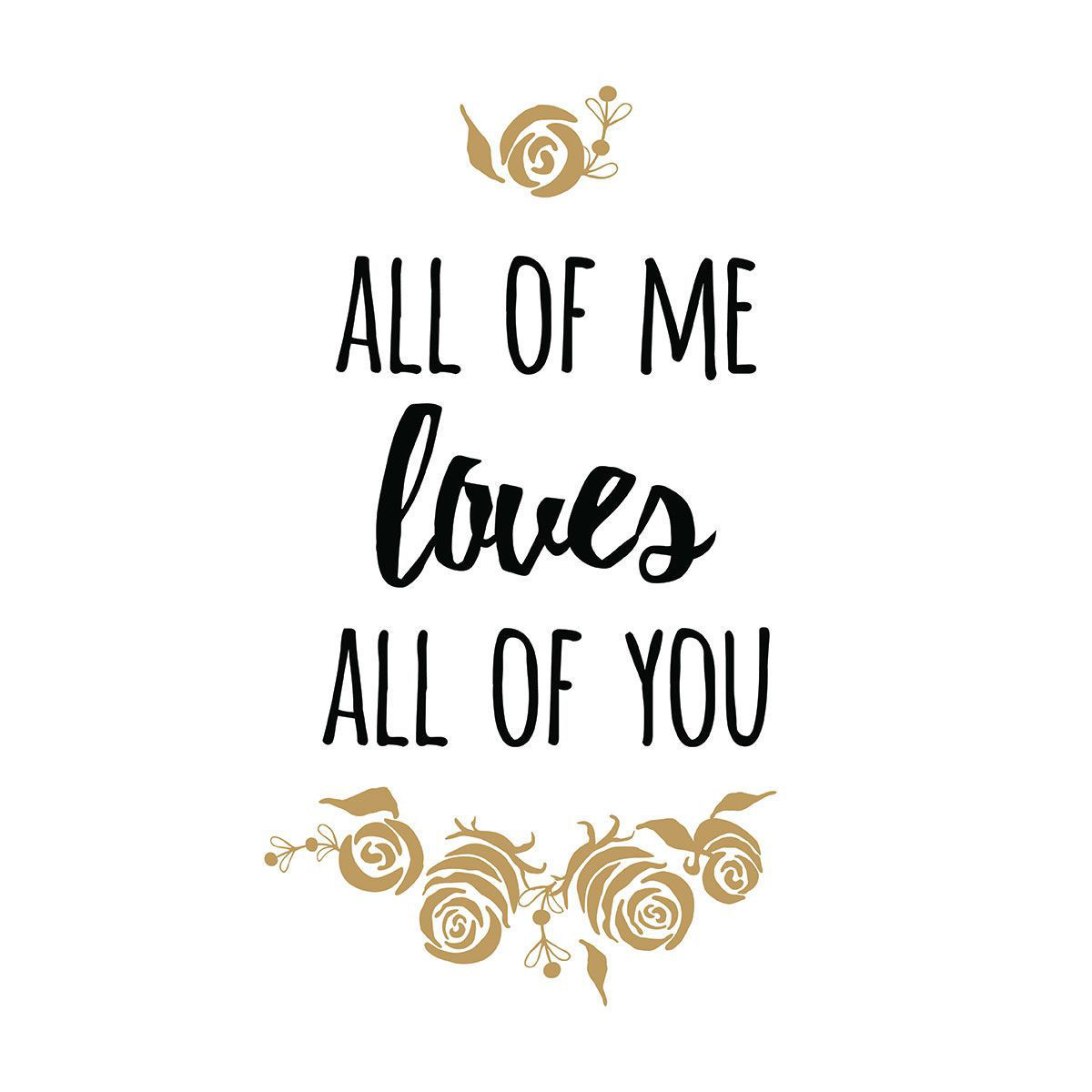 Picture of ALL OF ME WALL HANGING