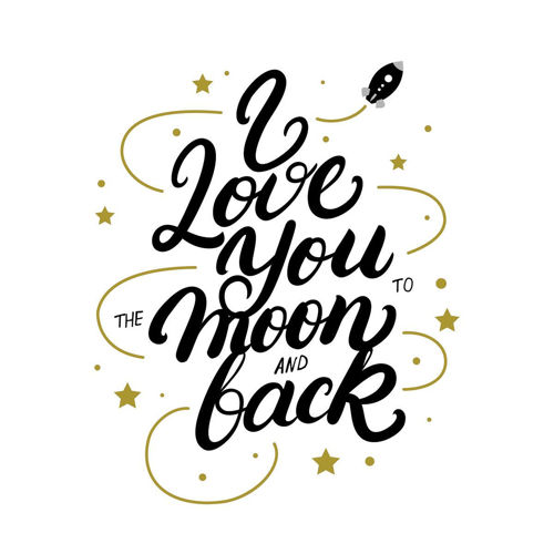 Picture of MOON AND BACK WALL HANGING