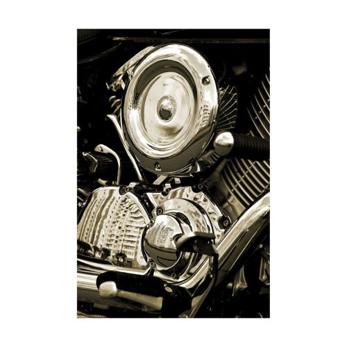 Picture of MOTORCYCLE ENGINE WALL HANGING