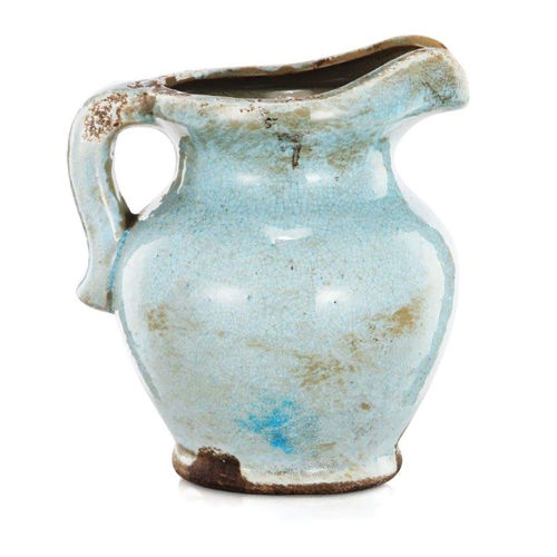 Picture of BLUE PITCHER VASE