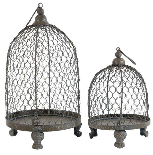 Picture of HANGING MESH CANDLEHOLDER SET