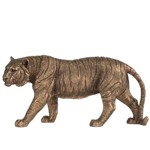 Picture of COPPER TIGER STATUE