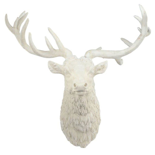 Picture of WHITE DEER WALL HANGING