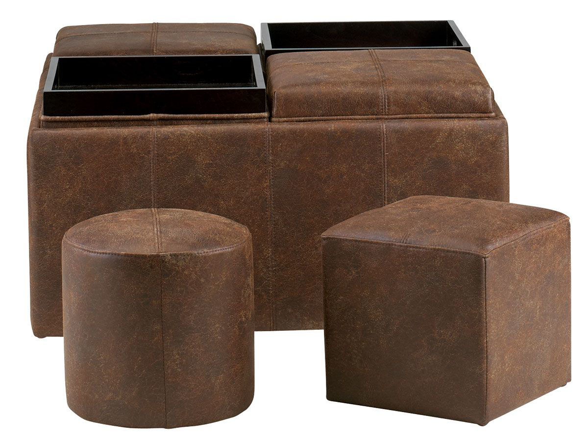 Picture of PASADENA 9 PIECE OTTOMAN SET