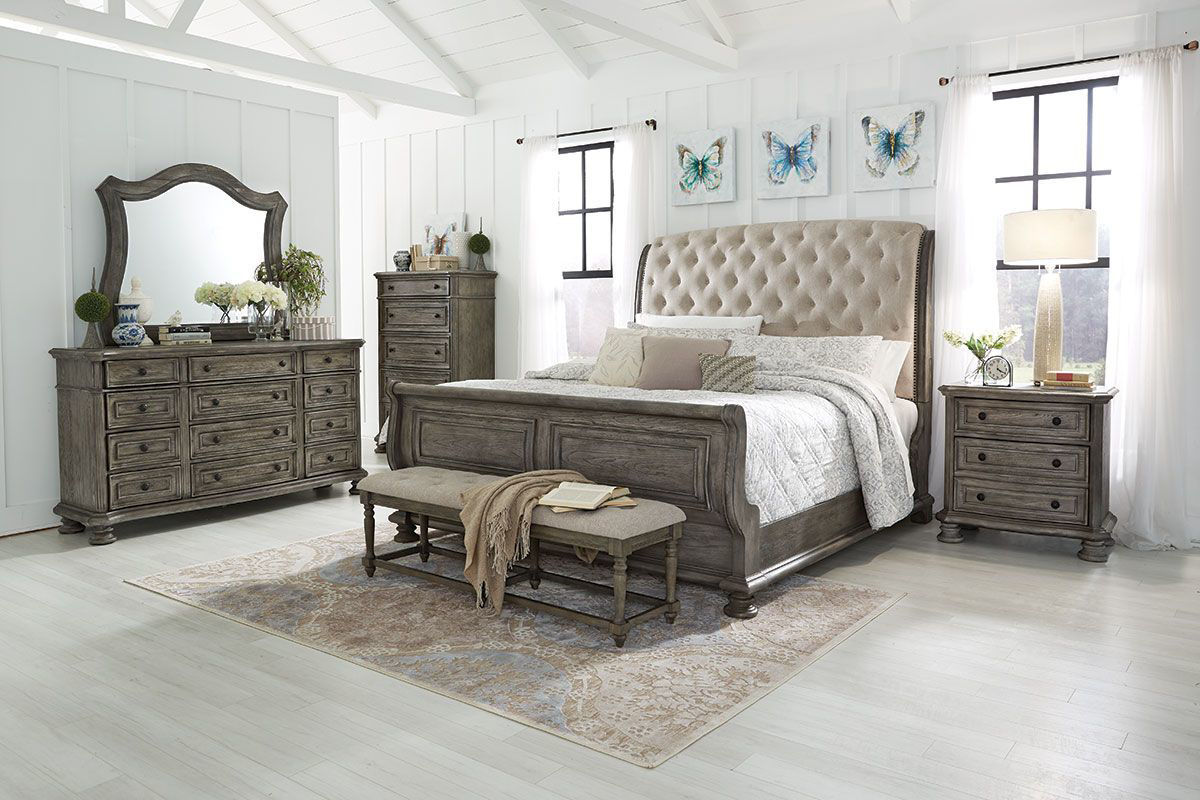 Picture of CLASSIC SILVER 6 PIECE QUEEN LINEN SET