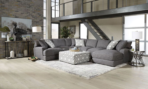 Picture of HINSDALE 5 PIECE RIGHT ARM FACING CHAISE SECTIONAL