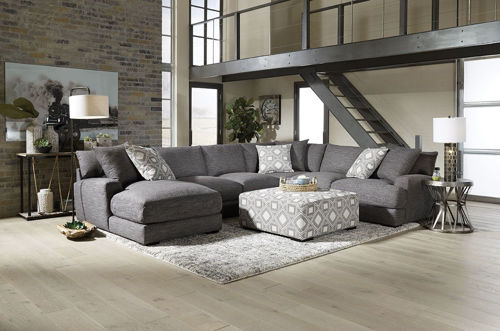 Picture of HINSDALE 5 PIECE LEFT ARM FACING CHAISE SECTIONAL