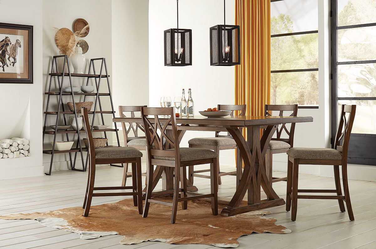 Picture of WILSHIRE 5 PIECE DINING SET