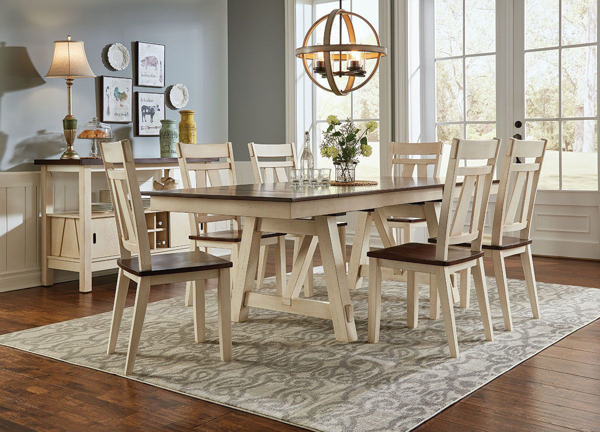 Picture of LAUREL MANOR II 5 PIECE DINING SET