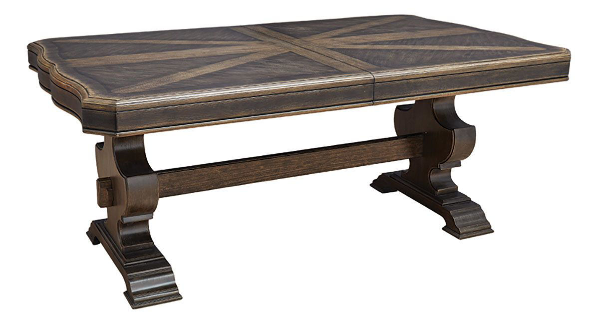Picture of MERRIS COMPLETE TABLE TOP AND BASE