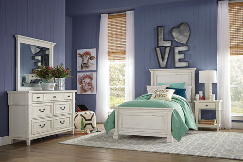 Picture of HANNAH 5 PIECE TWIN BEDROOM SET