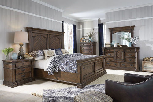 Picture of BAYNES 5 PIECE QUEEN BEDROOM SET