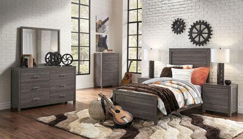 Picture of LEX 5 PIECE TWIN BEDROOM SET