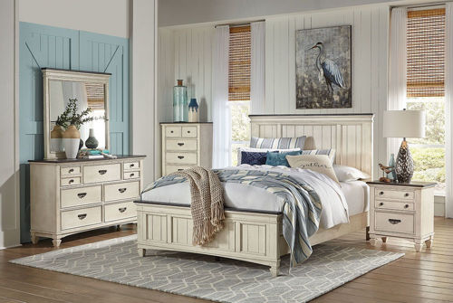 Picture of BROOKSIDE 5 PIECE KING BEDROOM SET