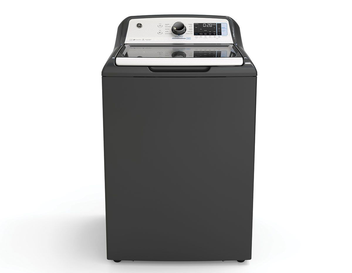 Picture of G.E. Top Load Washer & Dryer Pair