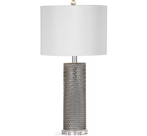 Picture of MERCURY GLASS LAMP