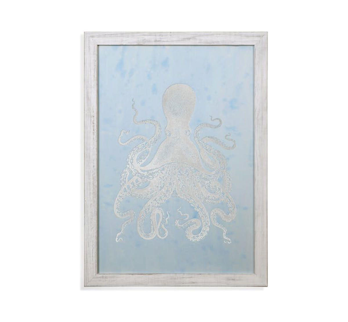 Picture of BLUE OCTOPUS WALL ART