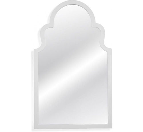 Picture of WHITE MODERN MIRROR