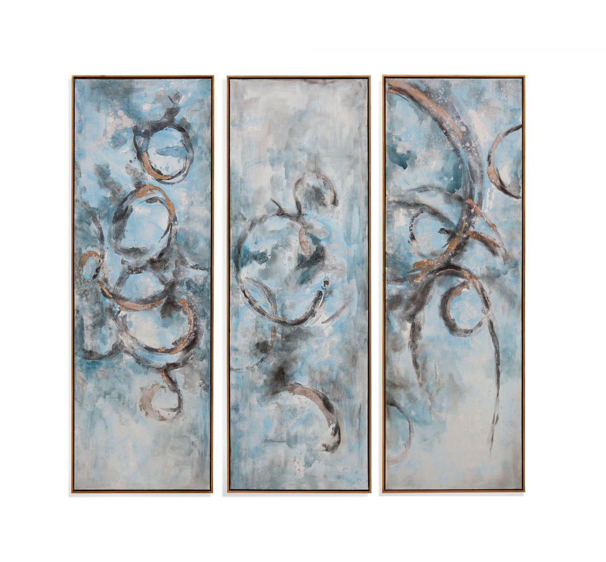 Picture of OCEANIC BLUES WALL ART