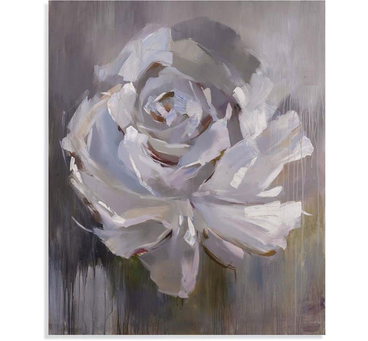 Picture of GREY ROSE WALL ART