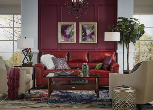 Picture of ASHER RUBY SOFA
