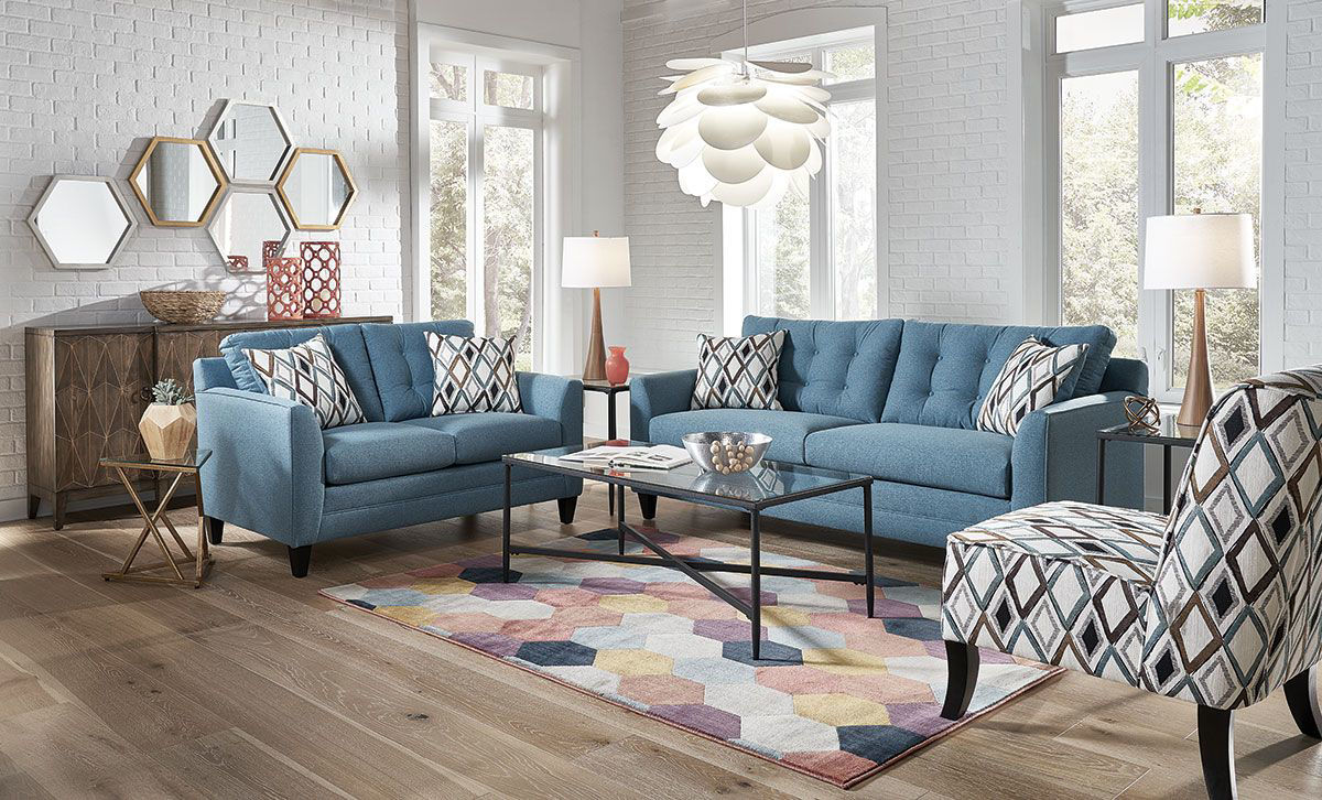 Picture of HALEY TEAL LOVESEAT