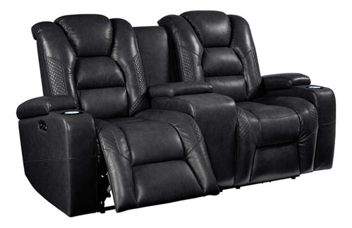 Picture of DAYTONA DUAL POWER RECLINING CONSOLE LOVESEAT
