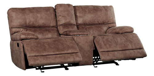 Picture of SIERRA RECLINING CONSOLE LOVESEAT