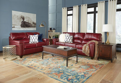 Picture of ASHER RUBY LOVESEAT