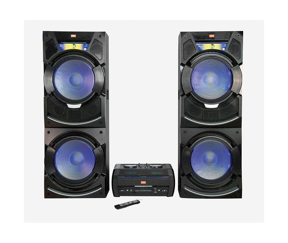 Edison Professional Bluetooth Stereo Sysytem Badcock Home Furniture More
