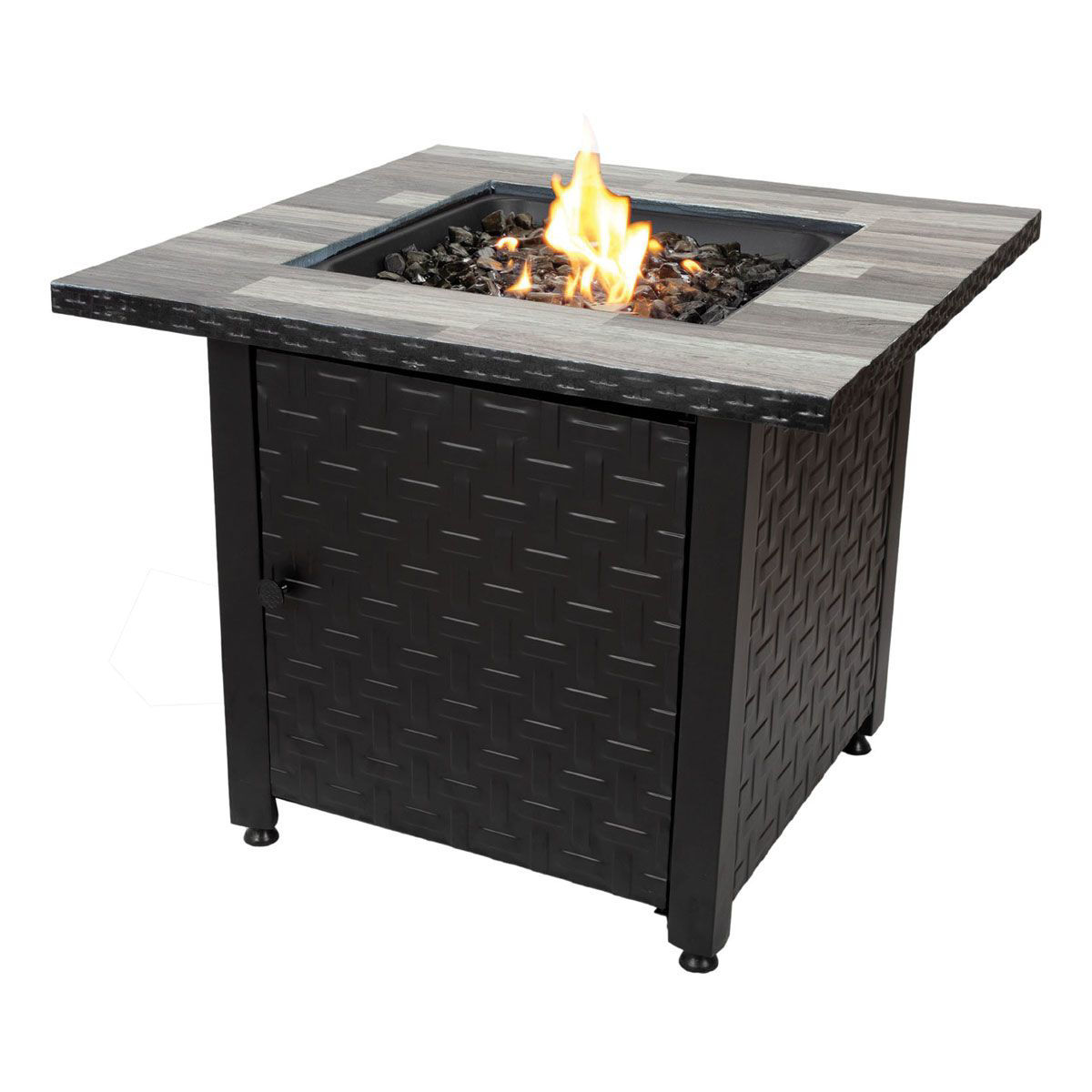 MR.BAR-B-Q GAS OUTDOOR FIRE PIT | Badcock Home Furniture &more