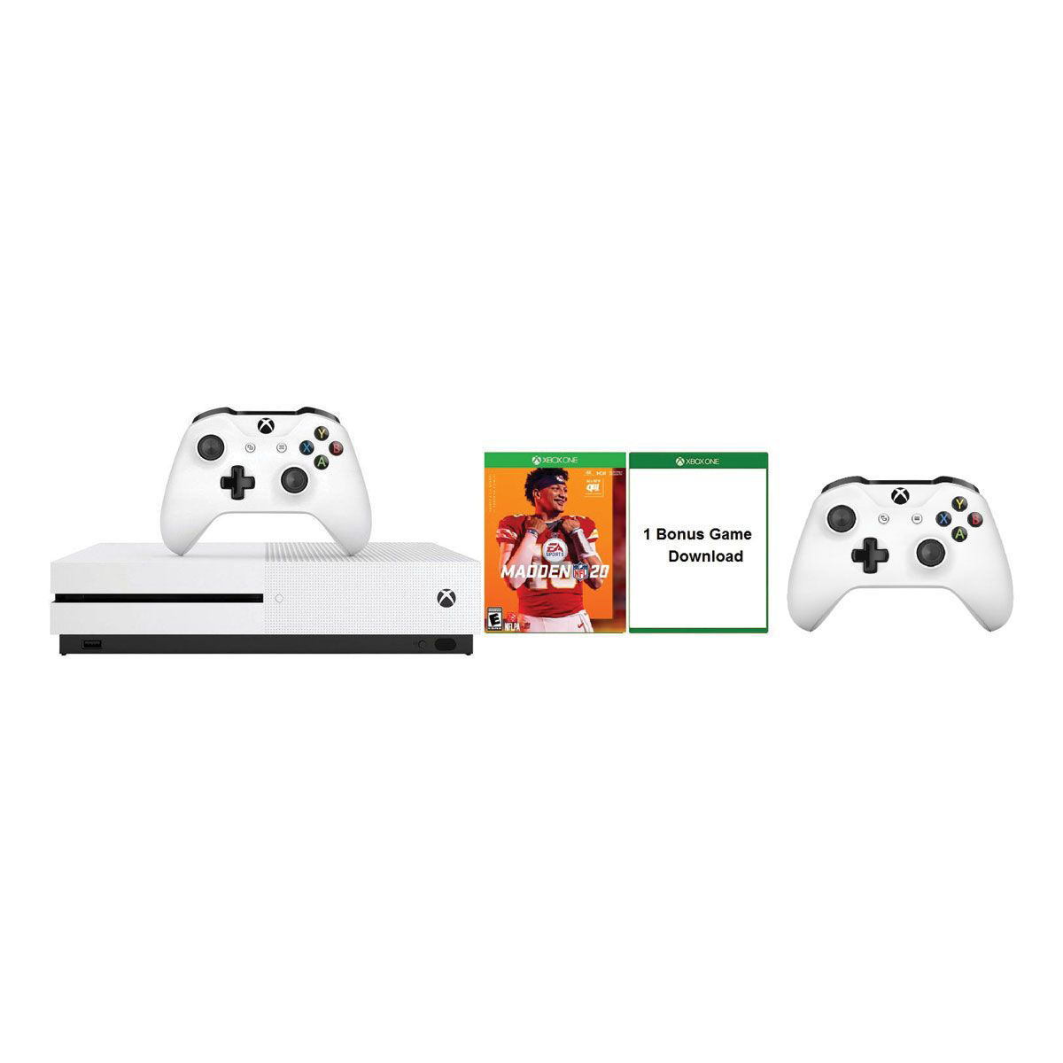 Picture of MICROSOFT XBOX ONE S MADDEN 2020 BUNDLE