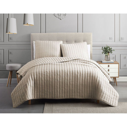 Picture of SUPER SOFT 3 PIECE QUEEN COVERLET SET