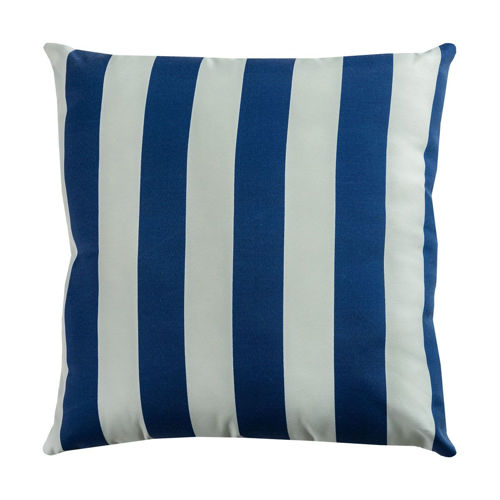Picture of BOLD STRIPE PRINTED COTTON THROW PILLOW