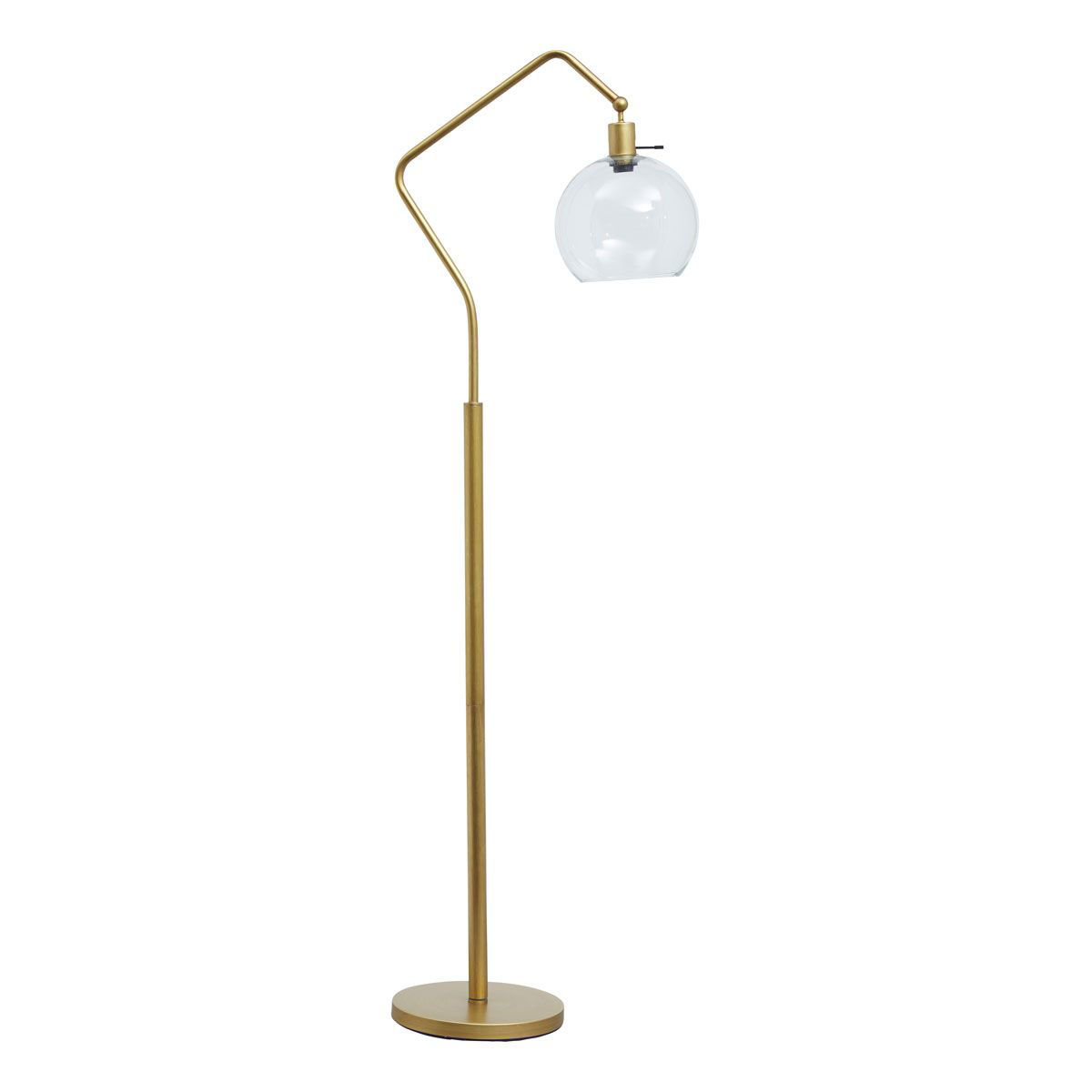 Picture of BRASS METAL FLOOR LAMP