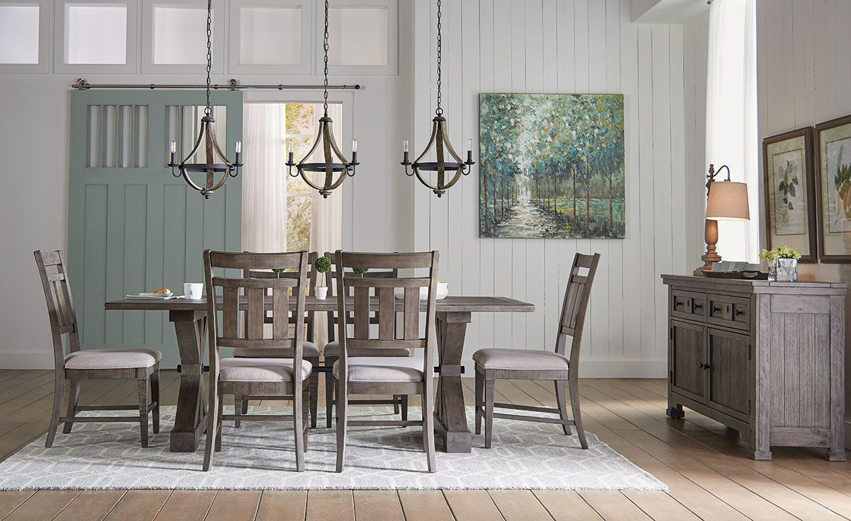 Picture of ASHBURY PARK 5 PIECE DINING SET