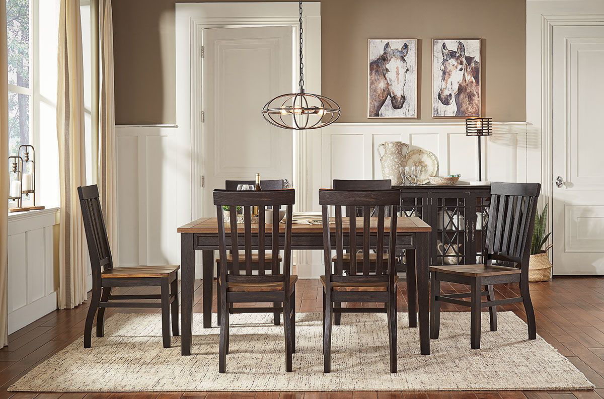Picture of DEMPSEY 5 PIECE DINING SET