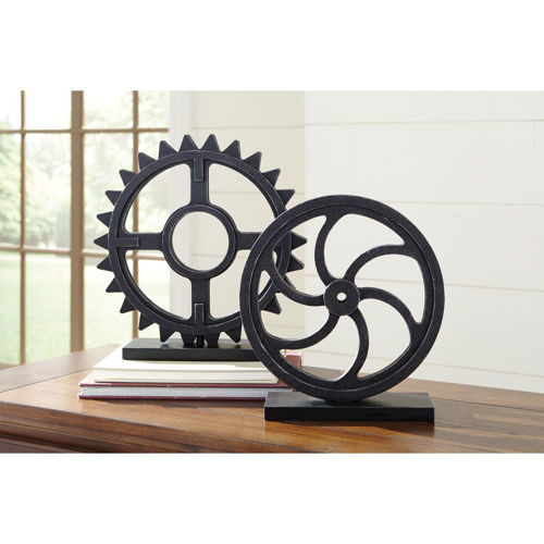 Picture of GEARS SCULPTURE SET
