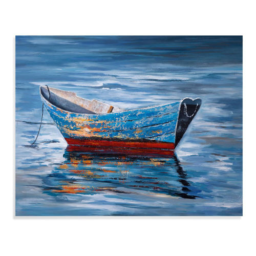 Picture of PEACEFUL BOAT WALL ART