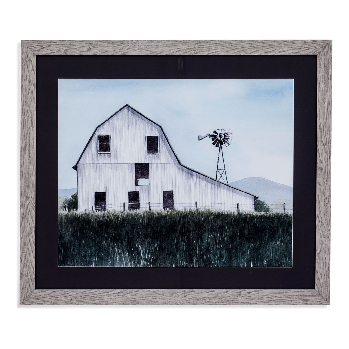 Picture of WINDMILL FARMHOUSE WALL ART