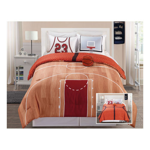 Picture of BASKETBALL REVERSIBLE SPORTS LINEN SET