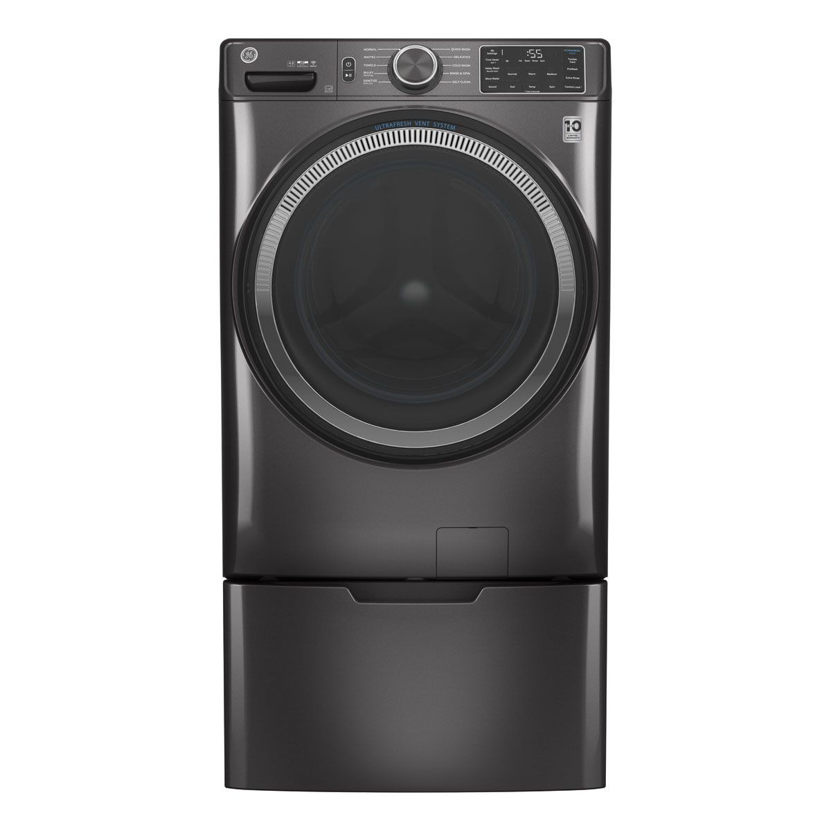 Picture of G.E. Front Load Washer & Dryer Pair