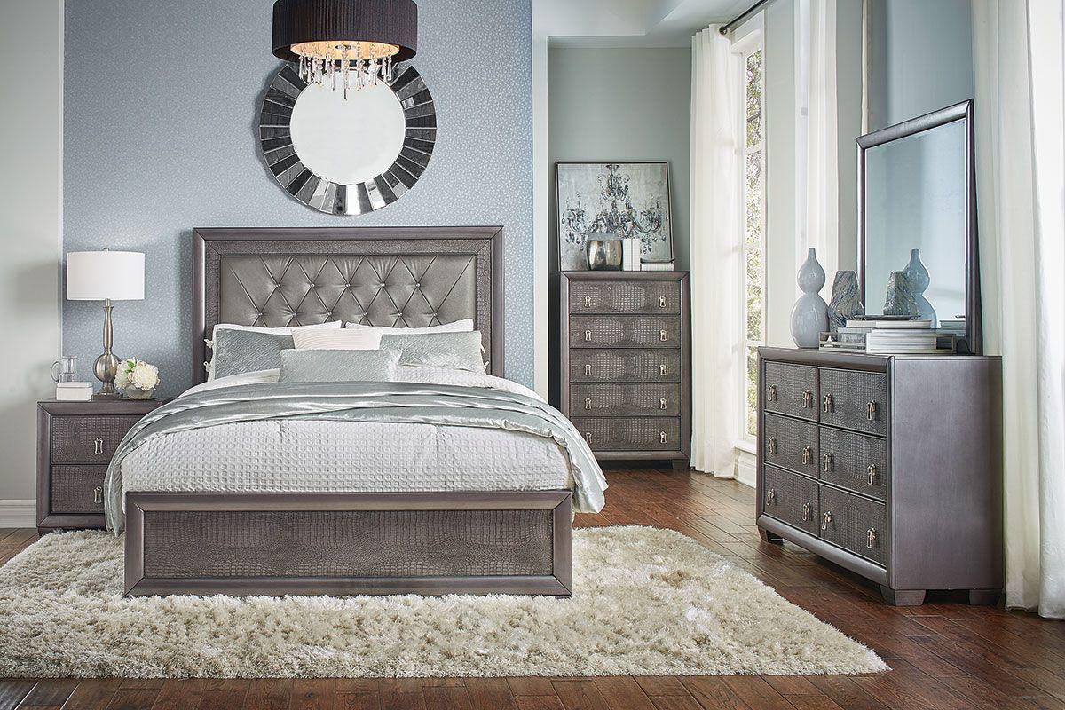 Reno 5 Pc Queen Bedroom Group Badcock Home Furniture More