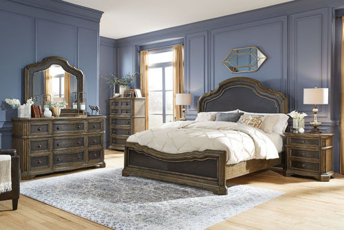 Picture of MERRIS BEDROOM SET