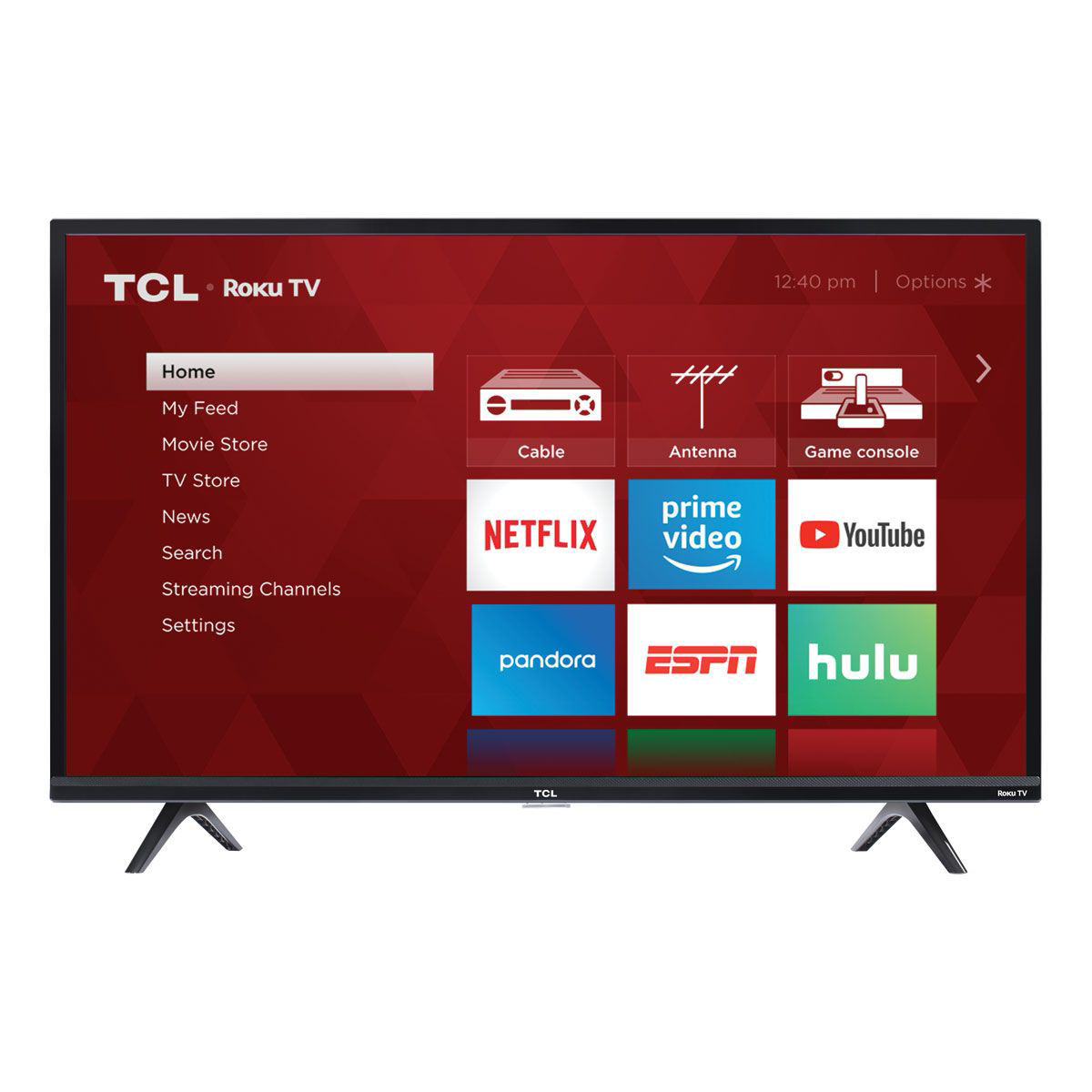 "Picture of TCL 49"" ROKU SMART LED TV"