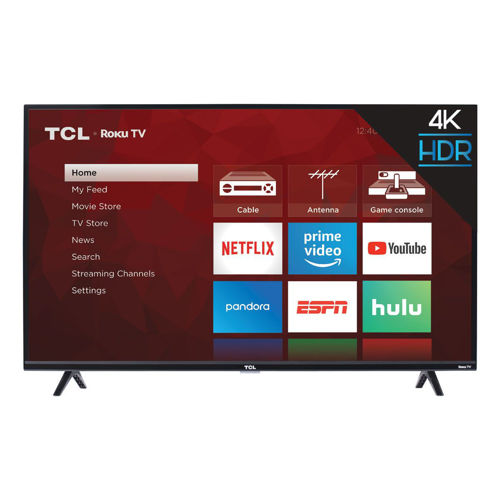 "Picture of TCL 43"" ROKU SMART 4K ULTRA HDTV"
