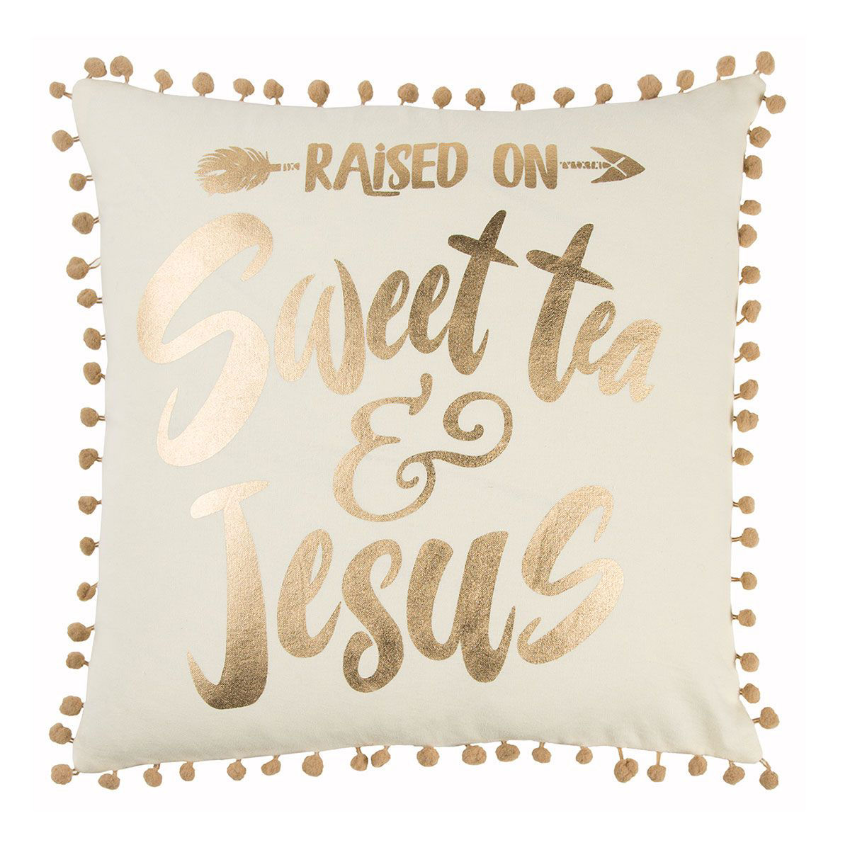 Picture of SWEET TEA/JESUS PILLOW